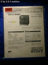 Sony Service Manual HST 414 /414L Component System (#4465)