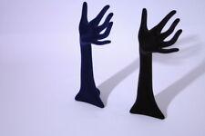 """Espositore per gioielleria da vetrina""""MANO  APERTA""""per anelli  h 31 cm"""