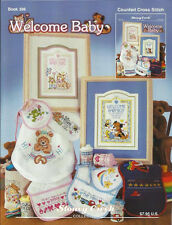 Baby Cross Stitch Birth Announcement Pattern Book WELCOME BABY - Stoney Creek