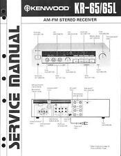 KENWOOD ORIGINALE Service Manual per kr-65/L