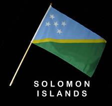 SOLOMON ISLANDS Hand Waver Flag - 30x45cm