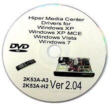 Hiper Media Driver DVD for 2K53A-A3 /H2 VFD ScaleoE