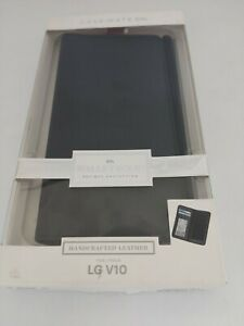 CASE MATE WALLET FOLIO HANDCRAFTED LEATHER FOR LG V10