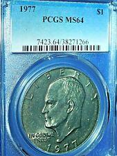 "1977 $1 ""Ike"" Eisenhower Dollar-PCGS MS64--513-1"
