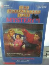 Baby-Sitters Club Mystery #1 Stacey And The Missing Ring pb D13