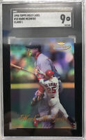 1998 Topps Gold Label #15 Mark McGwire Class 1 SGC 9 St. Louis Cardinals 363