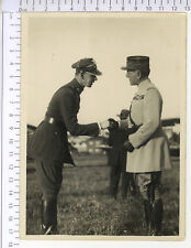 PHOTOGRAPHIE ANCIENNE - AS WWI -  COLONEL RAYSKI  GENERAL CHARPY   1914-1918