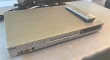 LG DVD + RW /+R Player Recorder DR7400 + Remote Scart Ariel Good Cond MP3 Silver