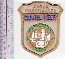 Capitol Reef National Park Service Junior Park Ranger Red Rock County Southern