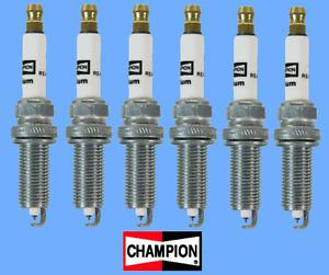 6 Spark Plugs CHAMPION 9412 Iridium REA9WYPB4 V6