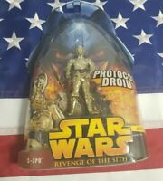 Hasbro Star Wars Revenge of the Sith C-3PO Protocol Droid Action Figure