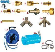 Pneumatik / Druckluft Anschlüsse: Stecker,Kupplung,Verbinder,Verteiler,Schellen