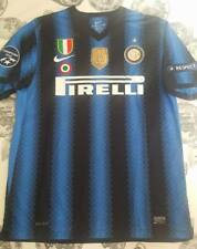 maglia shirt INTER 2010/2011 HOME nike patch TRIPLETE champions SCUDETTO tg.XL