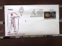SPANISH ESPANA BARCELONA OLYMPICS STAMP FIRST DAY COVER 1991 ARCHERY