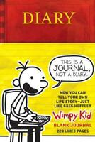 Diary of a Wimpy Kid Blank Journal by Jeff Kinney (author)
