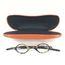 EYE BOBS P.BODY Round Eyeglasses Readers Tortoise Frames With Case