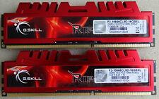 G.SKILL 16 GB (2x 8GB) PC3-10600 DDR3-1333 DDR3 SDRAM 1333 Mhz