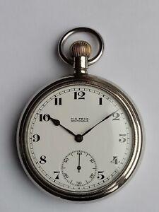 Swiss Fleurier 21 Jewel Pocket Watch, Good Working Order