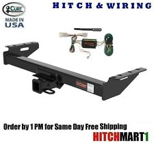 "FITS 1997-2001 JEEP CHEROKEE CLASS 3 CURT TRAILER HITCH & WIRING 2"" TOW RECEIVER"