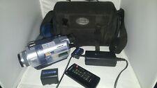 Sony Handycam Dcr-Trv240 Digital 8 Hi-8 Video Camcorder and W/ Case [Tested]