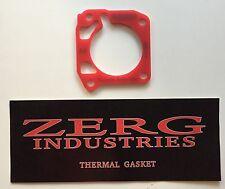 ZERG 64mm Throttle Body Thermal Gasket Civic Integra B16 B18C1 GSR (OBD2)
