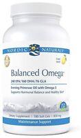 Nordic Naturals, Balanced Omega Combination - 240 EPA/160 DHA/76 GLA - 180 gels