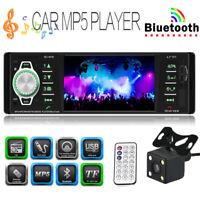 "1 DIN 4.1"" 1080P Autoradio Bluetooth MP5 Player Radio AUX USB DVR Video + Kamera"