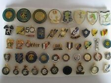 j6 lotto 48 pins lot INTER FC club spilla football calcio soccer broches spille