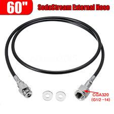 60 inch SodaStream Soda Maker Club External Hose Adapter Kit To CGA320 CO2 Tank