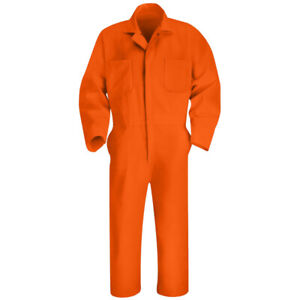 NEW Red Kap Coverall Twill Action Back Work Uniform Polyblend CT10