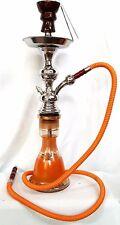 Narghilè h 55 cm 3 melassa 20 carboncini,10bocchini narghile, shisha, hookah