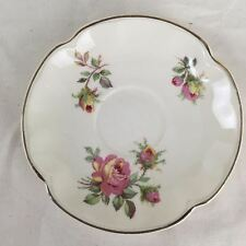 Victorian Johnson Bros England Floral Bone China Replacement Plate Roses