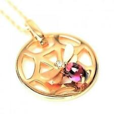 Chaumet genuine necklace Attrapmore  K18PG / Amethyst / Diamond