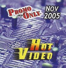 PROMO ONLY- New, DVD HOT VIDEO NOV.-2005,Rihanna,Shakira,Paul McCartney,Queen