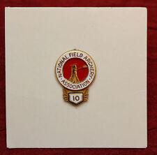National Field Archery Association 10 Year Membership Pin NFAA Mint On Card