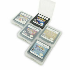 Pokemon SoulSilver HeartGold Version Game Cards Nintendo 3DS NDSI NDS Lite