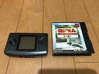 NEOGEO Pocket Color Carbon Black Handheld console with Game
