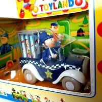 Vintage 90s Noddy Toyland Die Cast Car Lledo Mr Plod's Police Car MINT in Box
