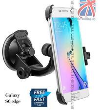 360°Rotating Windshield Suction Car Holder Mount Cradle Samsung Galaxy S6 edge