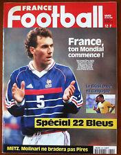FRANCE FOOTBALL 26/05/1998; France Mondial, Spécial 22 Bleus