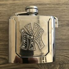 NEW HIGH QUALITY Container Flask Mis BELT BUCKLE MEN COWBOY Silver BOTTL