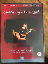 WILLIAM HURT MARLEE MATLIN Niños of a lesser god ~ 1986 ROMÁNTICA Drama GB DVD