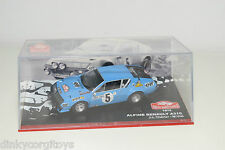. ALTAYA RENAULT ALPINE A310 RALLYE MONTE CARLO 1975 THERIER VIAL MINT BOXED
