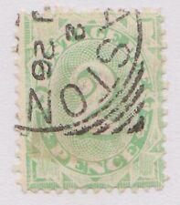 (KA33) 1902 AU 2d emerald green WM Inverted (A)