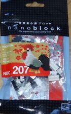 Nanoblock Rooster 100 Pcs Building Kit NBC-207