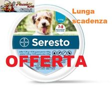 Seresto Bayer collare antiparassitario per cane fino a 8kg SCAD 11/22 NEW