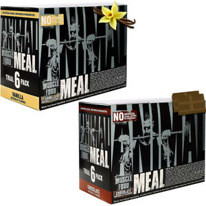 Universal Nutrition Animal Meal Replacement Dietary Supplement - 6-Pack