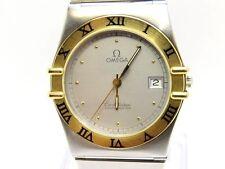 OMEGA Constelación Acero Y Oro Cuarzo Reloj Usado Edición Limitada De Caballero