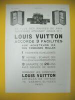 Publicite de Prensa Luis Vuitton Equipaje Caja Lujo 4 Facilites
