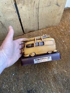 Saltrock Volkswagon Camper Van Paper Weight Trophy